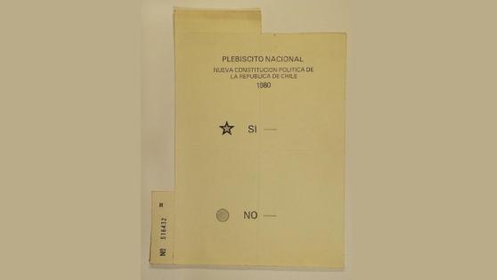 A 40 años del plebiscito de Pinochet