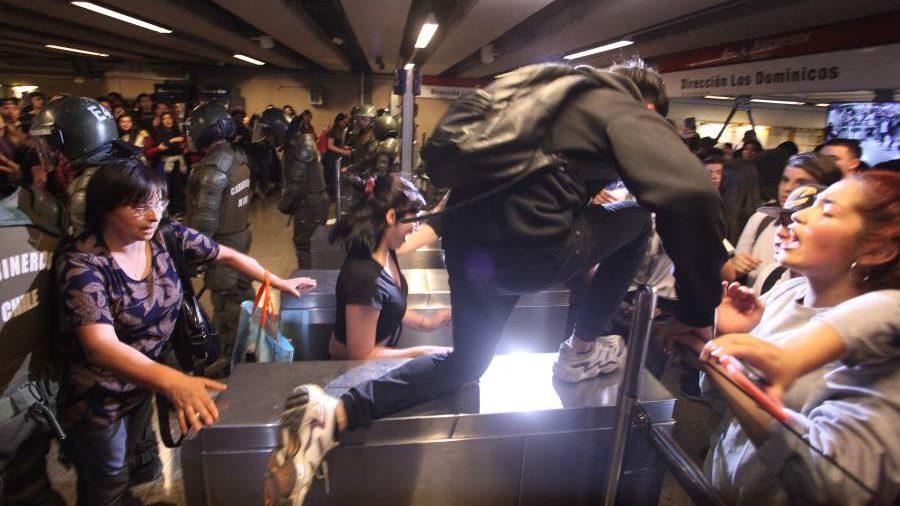 Resultado de imagen para protestas chile