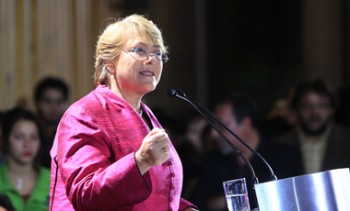 Candidatura Michelle Bachelet