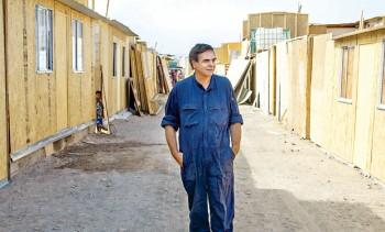 Felipe Berrios en el campamento La Chimba.