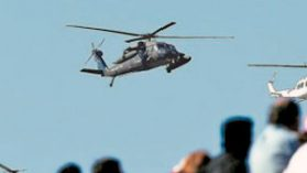 Las interrogantes de la hermética compra de los helicópteros Black Hawk de la FACH