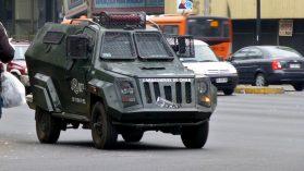 Carabineros gasta US$ 3,5 millones en carros blindados que tienen serias fallas de seguridad