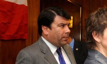 Diputado Cristián Campos.