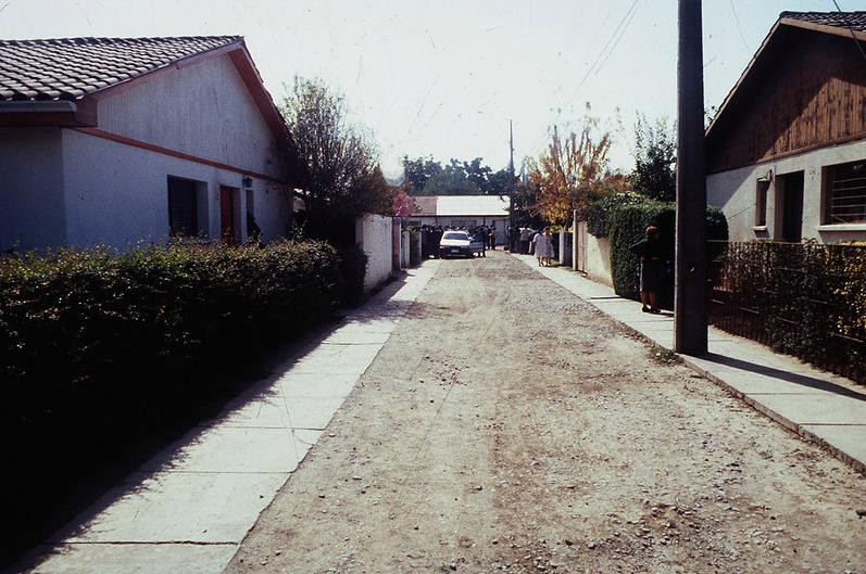 La casa-retén del FPMR estaba ubicada en el pasaje Poeta Vicente Huidobro, en Macul.
