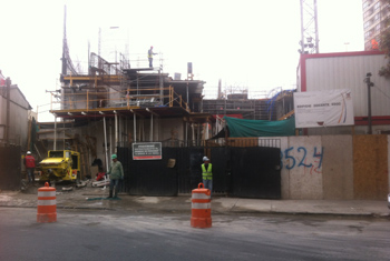 Construcción edificio USACH al día de hoy.