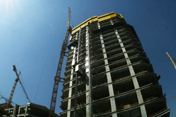 "Edificio ""Costanera Center"" en construcción"