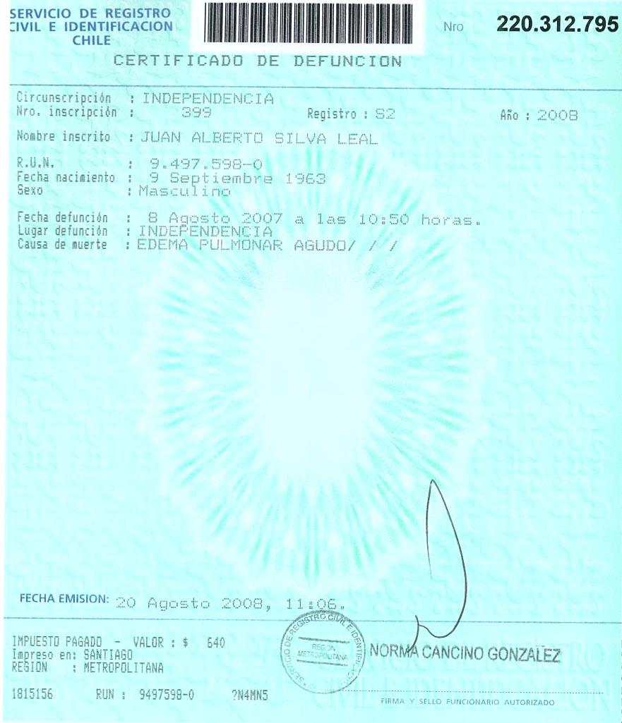 Atractivo Certificación CHT Colección - Cómo conseguir mi nacimiento ...