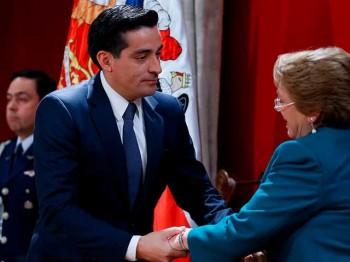 11 de Mayo de 2015, Rodrigo Peñailillo deja el Ministerio del Interior