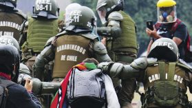 Menores del Sename denuncian abuso policial: lesiones oculares, tocaciones, amenazas de fusilamiento y golpizas