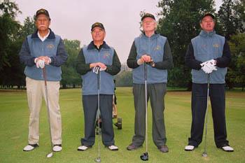 """Equipo """"Envasas Exportables"""": Guillermo Garin, Juan Lucar, Richard Quaas y Nelson Haase (Izquierda a derecha)"""