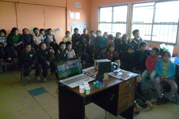 Escuela Mollulco de Temuco