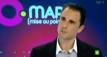 Hervé Falciani en una entrevista televisiva.