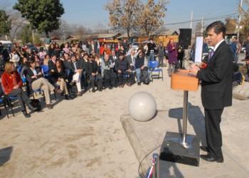 Patricio Rosende inaugura proyecto de recuperación de espacios públicos en Recoleta