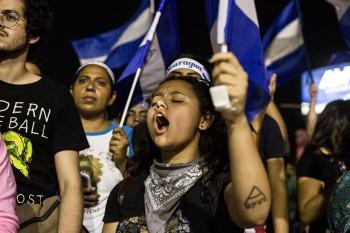 Protestas en Nicaragua (Fuente: elfaro.net)