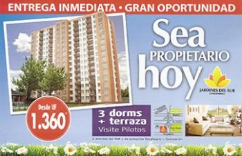 Jardines del Sur, Talcahuano (Foto promocional, precios y tamaños).
