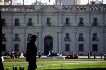 Fachada La Moneda