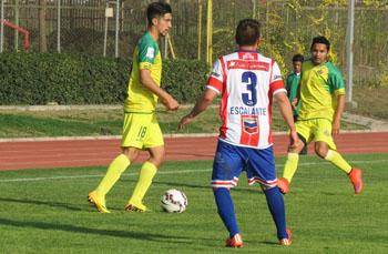 De verde y amarillo, el equipo Deportes La Pintana (Fuente: ANFP)