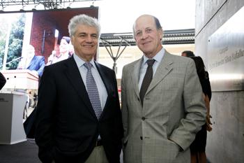 Carlos Eugenio Lavín y Carlos Alberto Délano, controladores de Penta