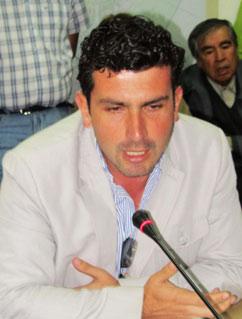 Concejal Marcelo Torres
