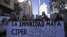 Periodistas chilenos demandan a Cancillería acciones diplomáticas en defensa de reporteros mexicanos