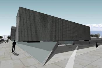 Maqueta del Museo de la Memoria