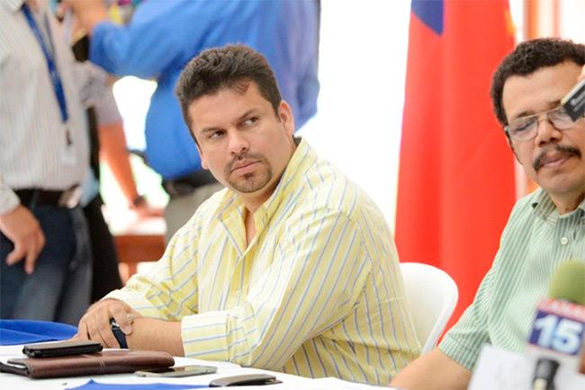 Fidel Moreno, el poder real en la Alcaldía de Managua. Foto | Carlos Herrera | Confidencial