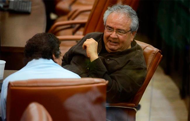 Gustavo Porras, secretario general del Frente Nacional de Trabajadores (FNT). Foto | Carlos Herrera | Confidencial