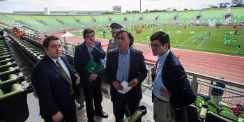 José Roa (a la izquierda) y Omar Jara (al centro)