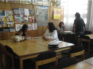 Patricia Gaete, profesora de inglés del Liceo Arturo Pérez Canto