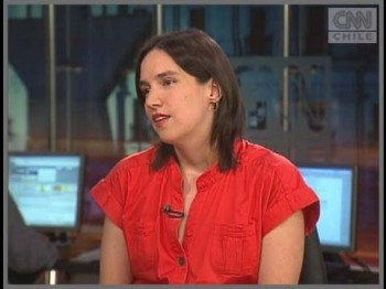 Patricia Medrano (Fuente: CNN Chile)