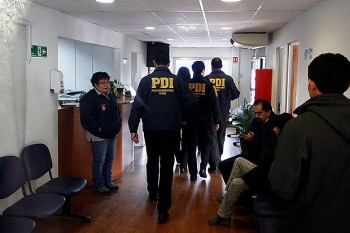Allanamiento de la PDI en Municipalidad de Maipú