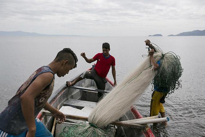 Según el Instituto Nacional de Estadísticas, las principales actividades económicas de los amapalinos son la agricultura, silvicultura, caza y pesca que sustentan a un 53% de la población total del municipio. Foto: Fred Ramos