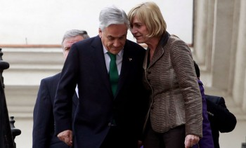 Sebastián Piñera y Evelyn Matthei
