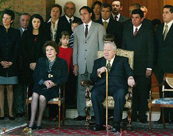Augusto Pinochet y Lucia Hiriart