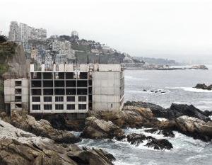 Construcción Hotel Punta Piqueros (Fuente: plataformaurbana.cl)
