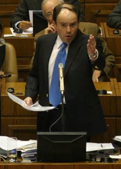 Rodrigo Álvarez, presidente de la cámara de diputados