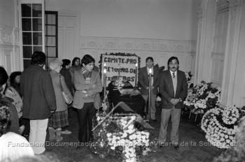 Funeral de Rodrigo Rojas De Negri (Fuente: archivovicaria.cl)