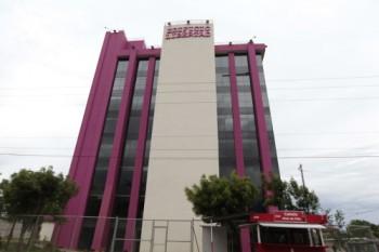 La sede de XinWei en el edificio Libertad, de Managua. Diana Ulloa/Confidencial.