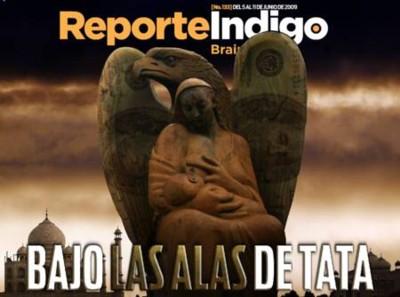 Portada de Reporte Índigo sobre Tata
