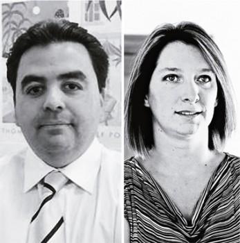 Mauricio Valero y Natalia Compagnon