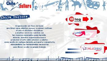 Captura Web Chile Cultura